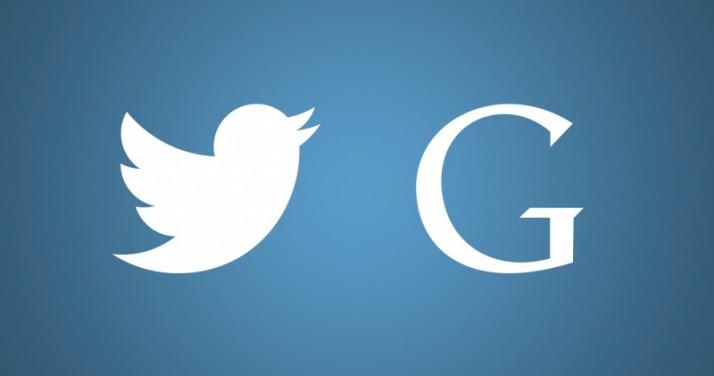 Twitter Google alliance